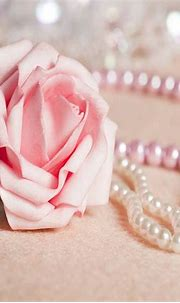 Pink Rose and Pearls wallpaper by _Savanna_ - 28 - Free on ...