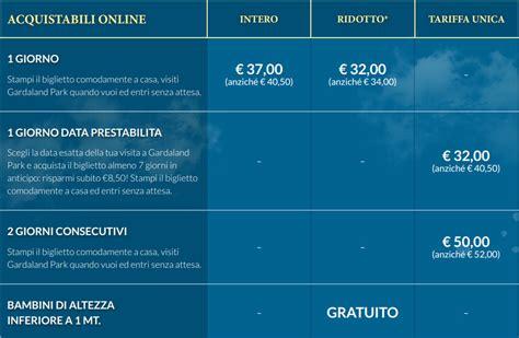 Prezzo Ingresso Gardaland by Gardaland Orari E Prezzi Biglietti Parco Divertimenti