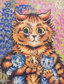 louis wain cats louis wain master cat illustrator karuski s