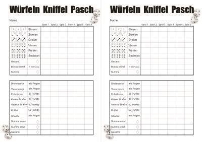 Kniffelblock zum ausdrucken pdf free by letnirecva issuu 15 kniffelzettel ausdrucken losgringosdr 13 yatzy vorlage zum ausdrucken kostenlos. Kniffel vorlage din a4 pdf   Kniffel Vorlage Zum Ausdrucken