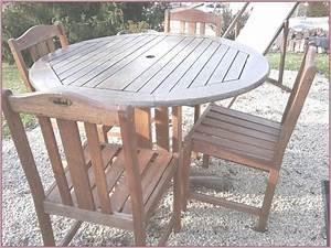 Table Jardin Occasion. table et chaise de jardin chez auchan. table ...