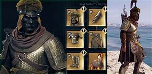 AC: Odyssey Legendary Armors | Unlock All Legendary Armor ...
