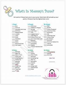 "Search Results for ""Baby Shower Purse Game Printable"