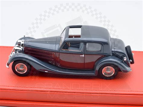 $35.00 original price $35.00 (20% off). Bugatti T57 Galibier Vanvooren 1936 Black & Burgundy by Evrat