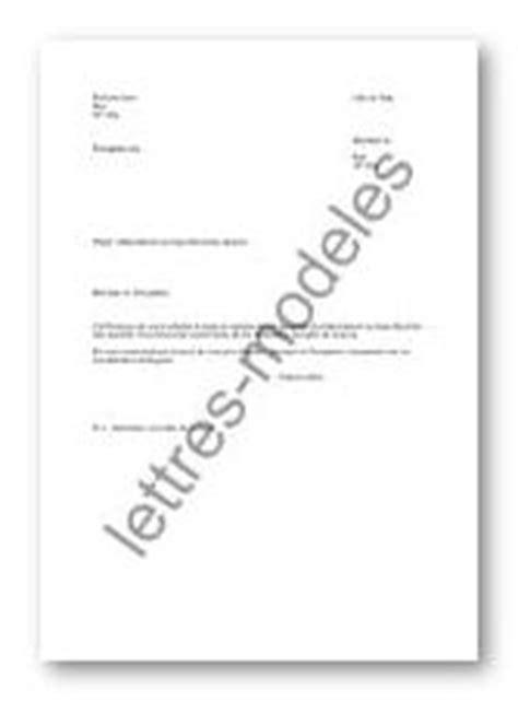 modele de lettre rattachement au foyer fiscal exemple de lettre de rattachement au foyer fiscal des