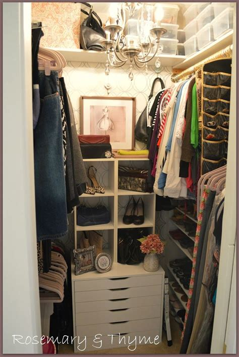 Small Closet by 17 Best Ideas About Small Closet Makeovers On