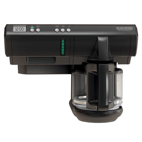 cabinet mount coffee maker counter coffee maker save space 12cup programmable