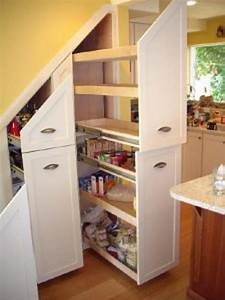 Under stair storage ideas for extra storage space for Under stairs kitchen storage