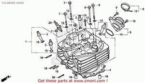 Honda Xr650l 1993  P  Usa Cylinder Head