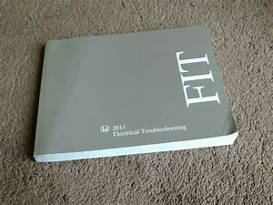 2011 Honda Fit Electrical Troubleshooting Manual Wiring