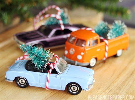 fabulous easy diy ornaments honeybear lane