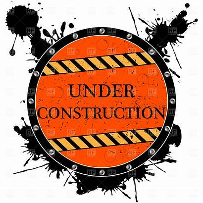 Construction Under Clip Signs Clipart Cliparts Sign