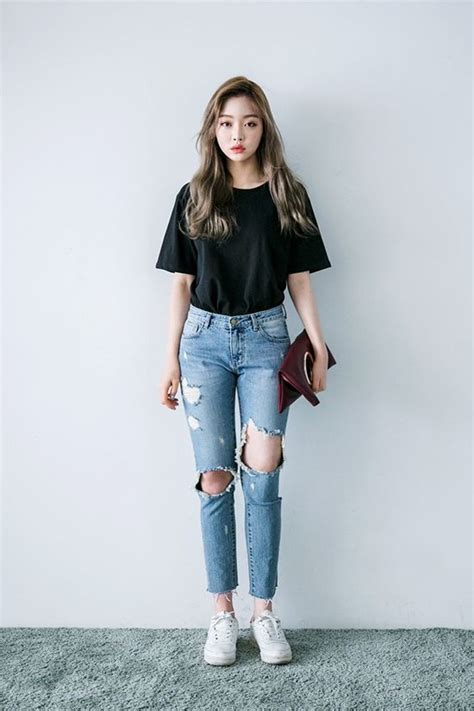 Best 25+ Korean fashion styles ideas on Pinterest | Korean outfits Korean fashion summer and ...