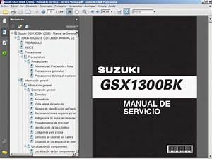 Suzuki Gsx1300bk  2008  - Service Manual