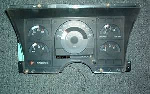 Chevy Chevrolet Gmc Truck Pickup 1500 2500 Gas Instrument Cluster Speedometer 91