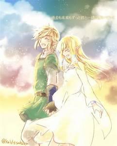 Link & Zelda, from #Skyward_Sword, by @kaido_sakura ...