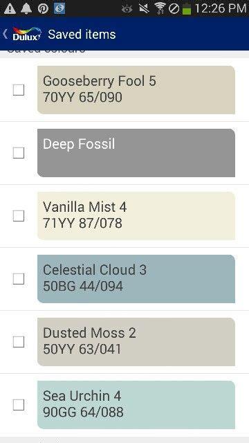 colour scheme based  dulux paints deep fossil