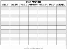Printable Event Calendar » Calendar Template 2018