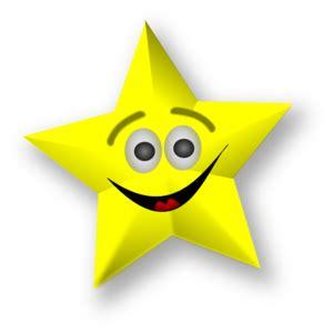 smiling star clip art  clkercom vector clip art