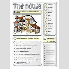 Describing A House  Esl Worksheets Of The Day  English Lessons, English Vocabulary, English