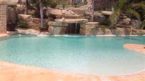 piscinas de lujo  playa  cascadas en tarragona youtube