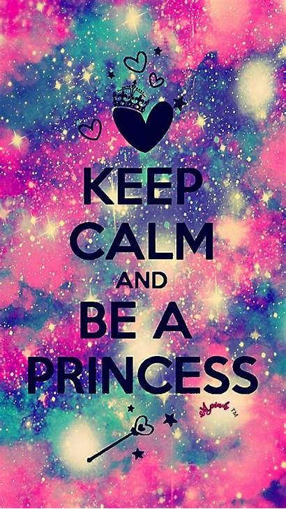 Keep Galaxy Quotes Sparkle Calm Wallpapers Princess