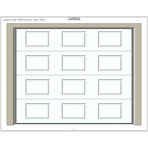isolation porte de garage basculante carbas isolation 40 mm porte de garage basculante portes de garage sur mesure aamis