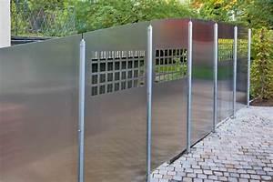 Aluminium Zaun Modern : eleganter zaun stahl und aluminium in gelungener eintracht ~ Articles-book.com Haus und Dekorationen