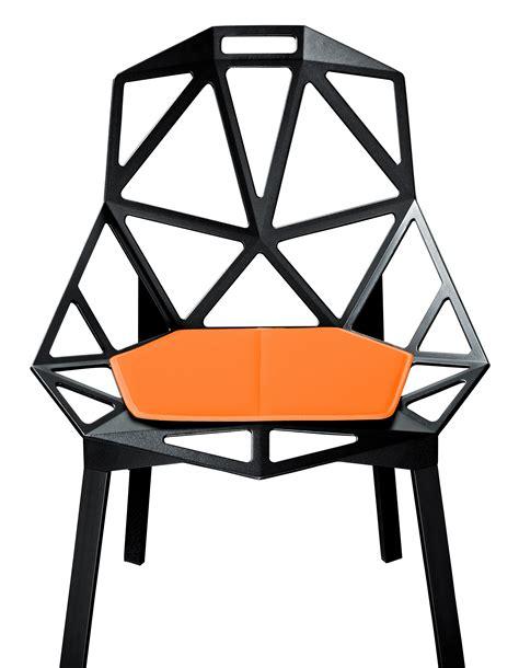 Coussin D'assise  Pour Chair One Orange Magis