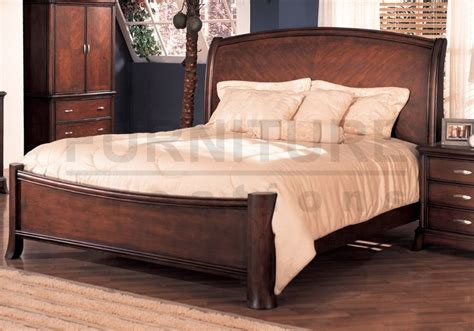 soho cherry wood king sized bed frame  room bed