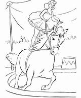 Circus Coloring Pages Printable Colouring Animals Animal sketch template