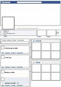 10 teacher freebies including this free quotfakebook With facebook lesson plan template