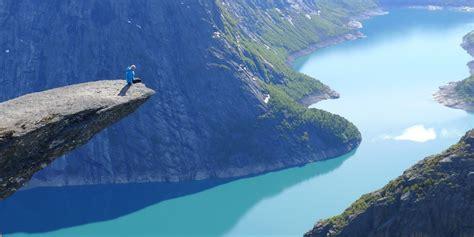 Trolltunga Norway Is The Scariest Instagram Spot On Earth