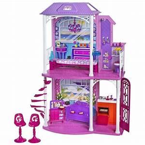 la maison de barbie achat vente maison poupee cdiscount With beautiful modele de maison en l 8 image maison de barbie