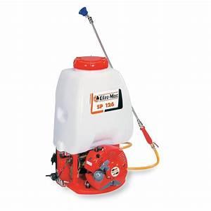 Pulvérisateur à Dos : pulv risateur thermique dos pro 1 2 ch 0 9 kw sp 126 ~ Melissatoandfro.com Idées de Décoration
