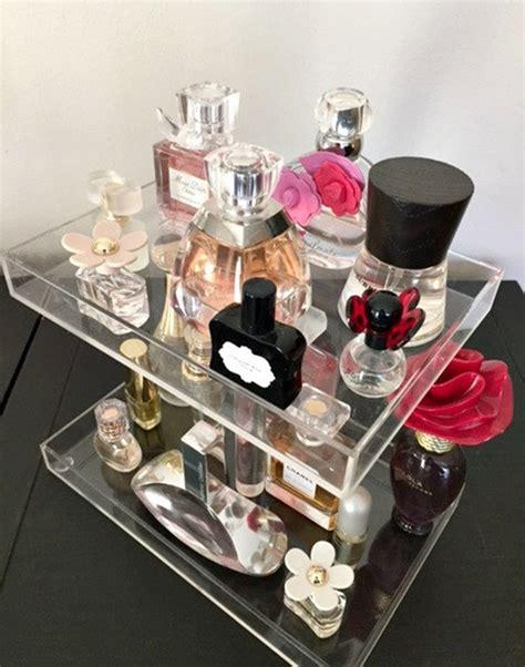 highly transparent acrylic perfume organizerperfume
