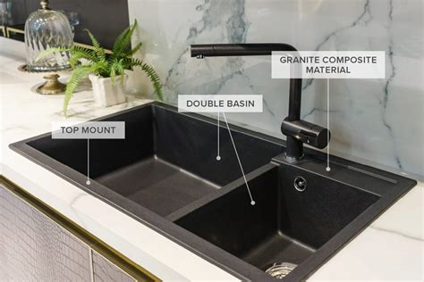 sink kitchen a guide to 12 different types of kitchen sinks