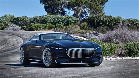 luxury mercedes revelation of luxury vision mercedes maybach 6 cabriolet