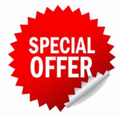 Offer Special Transparent