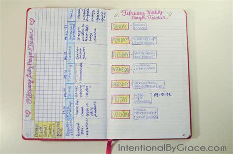 set    prayer journal intentional  grace