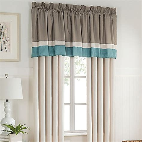 bed bath and beyond window blinds tresco window curtain panel and valance bed bath beyond