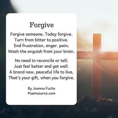 forgivenessa decision   feeling living