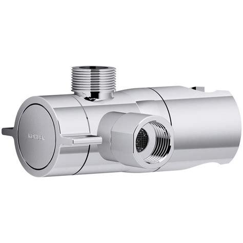 Kohler Shower Diverter by Kohler Awaken Shower Arm Diverter In Polished Chrome K