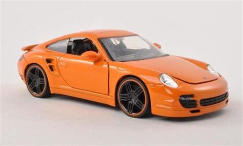 porsche 911 orange porsche 911 orange 2007 jada toys modellauto 1 24 kaufen