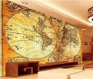 3d wall wallpaper murals , European World Map wall , high ...