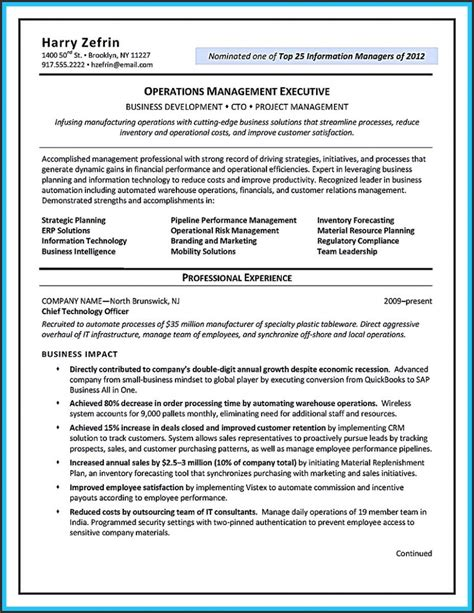 Resume Templates Ats Friendly Resume Template Ats