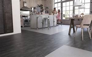 5 idees deco pour revetement de sol travauxcom for Idee deco cuisine avec sol gris cuisine