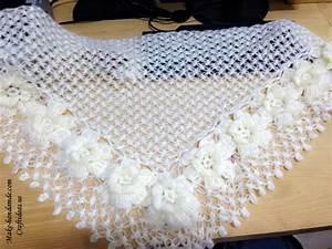 Crochet Lace Charming Shawl For Women