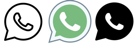 whatsapp icon   png  vector