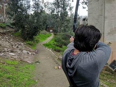 Balboa Park Archery Range Powell Rube Practice